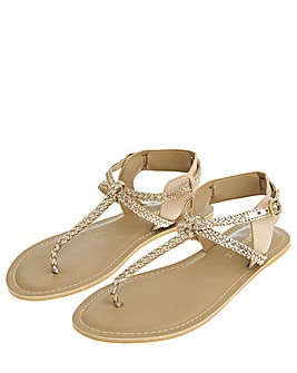 Accessorize Jen Plaited Sandals