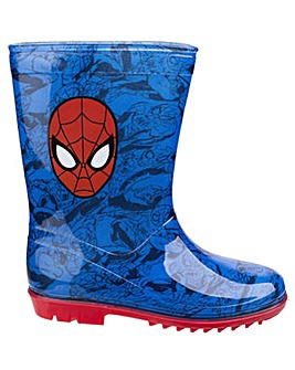 Spiderman Boys Wellington Boots