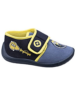 Minions Boys Touch Fastening Slipper