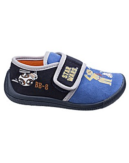 Star Wars Boys Touch Fastening Slipper