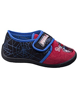 Spiderman Touch Fastening Boys Slipper