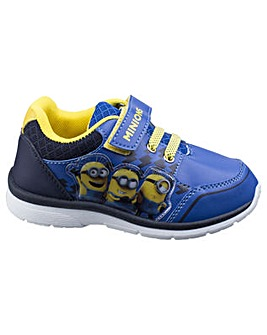 Minions Boys Touch Fastening Trainer