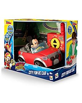 Mickey City Fun RC Car