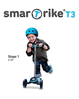 Smart Trike Blue T3 Scooter