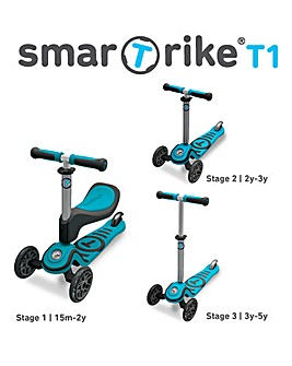 Smart Trike Blue T1 Scooter