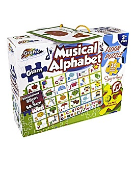 Giant Musical Alphabet Floor Puzzle