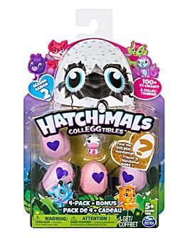 Hatchimals Colleggtibles 4 Pack & Bonus