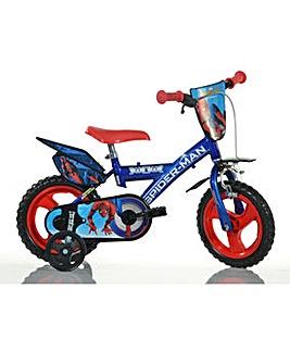 Spider-Man Homecoming 12 Inch Bike