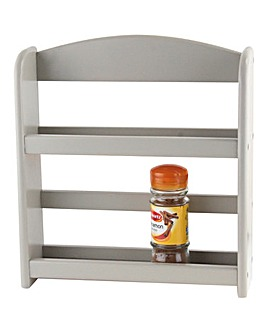 Grey Spice Rack
