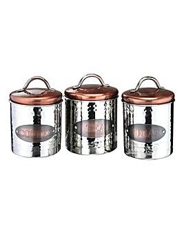 Copper 3 Piece Storage Set