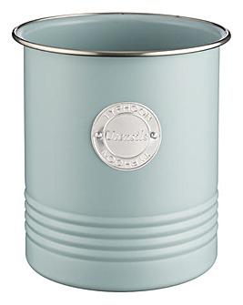 Typhoon Living Blue Utensil Jar