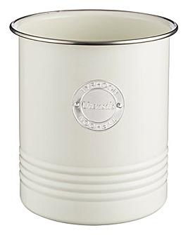 Typhoon Living Cream Utensil Jar