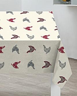 Sabichi Hen PVC Table Cloth