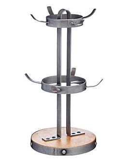 Industrial Kitchen Mug Tree