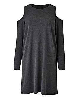 Petite Cold Shoulder Tunic