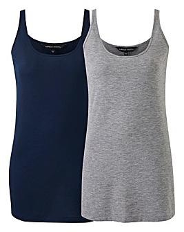 Pack 2 Longline Vests