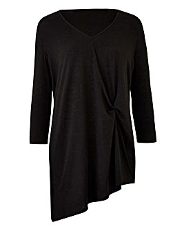 Twist Asymmetric Hem Tunic