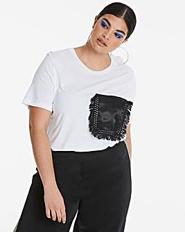 Fringe Pocket T-Shirt