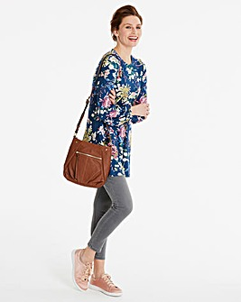 Balloon Sleeve Print Tunic