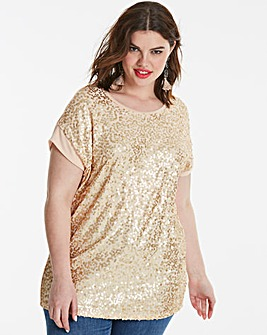 Sequin Front Top