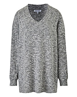 Soft Touch V Neck Sweatshirt