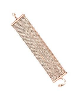Lipsy Slinky Chain Bracelet