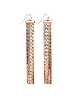Lipsy Slinky Chain Earring
