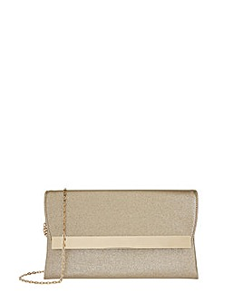 Accessorize Nadine Shimmer Clutch Bag
