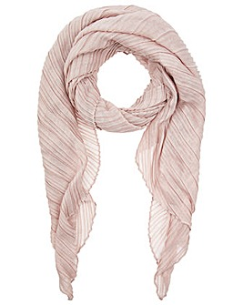Accessorize Sophie Soft Pleated Scarf