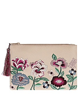 Accessorize Floral Embroiderred Purse