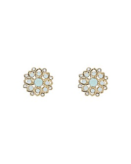 Accessorize Pretty Flower Stud Earrings