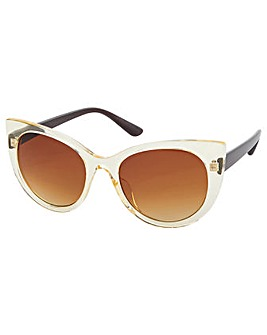 Accessorize Carmela Cateye Sunglasses