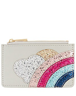 Accessorize Rainbow And Cloud Cardholder
