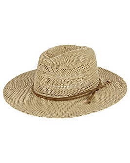 Accessorize Rancher Fedora Hat