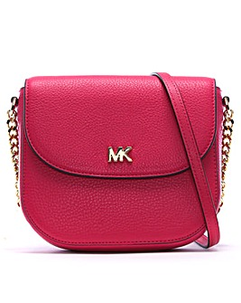 Michael Kors Half Dome Leather Crossbody