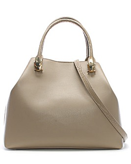 Class Cavalli Corinne Leather Hobo Bag