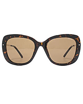 Polaroid Oversize Square Sunglasses