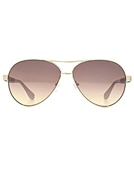 Guess G Chain Temple Pilot Sunglasses