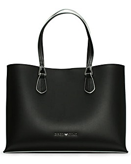 Emporio Armani Wilma Logo Shopper Bag