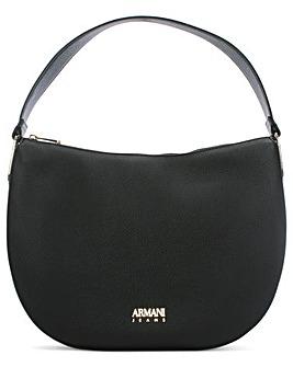 Armani Jeans Paperclip Shoulder Bag