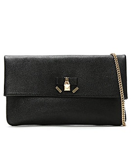 Michael Kors Everly Leather Clutch Bag