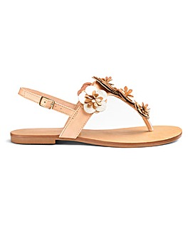Head Over Heels by Dune Lizza Sandal