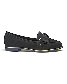Anna Ribbon Loafer Extra Wide Fit