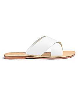 Mollie Leather Sandals Extra Wide Fit