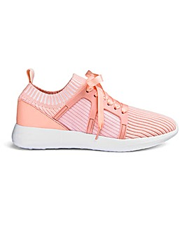 Nina Knitted Trainers Wide Fit