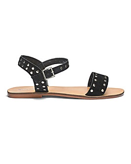 Miranda Leather Sandals Extra Wide Fit