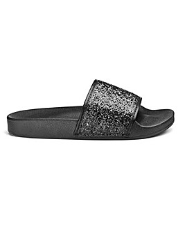 Harper Basic Sliders Extra Wide Fit