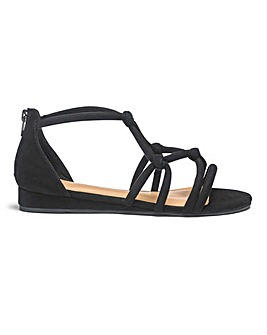 Angela Rope Sandal Wide Fit