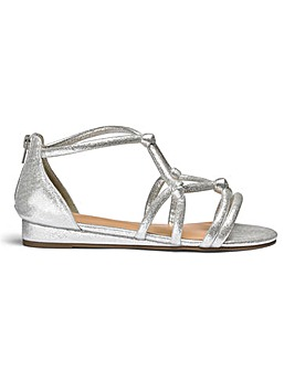 Angela Rope Sandal Extra Wide Fit