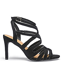 Kristen Cage Sandal Extra Wide Fit